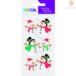 Nalepke za dekoracijo Snežaki