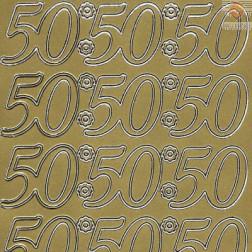 Nalepke 50 velike