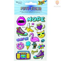 Nalepke Puffy sticker II 16 kosov