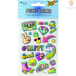 Nalepke Puffy sticker I 18 kosov