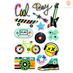 Nalepke Puffy sticker Cool 14 kosov