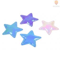 Novoleti okraski zvezdice, 4 kos