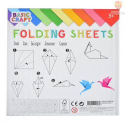 Origami papir 70 g/m2 20x20cm 80 listov