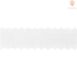 Papirnata samolepilna bordura bela 3,5x200cm