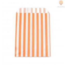 Oranžna s črtami