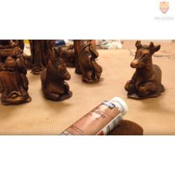 Set za patiniranje figuric za jaslice
