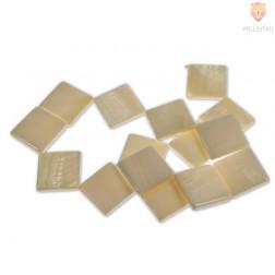 Perle iz školjk - rombi 20 x 20 mm 1 niz cca 14 kosov