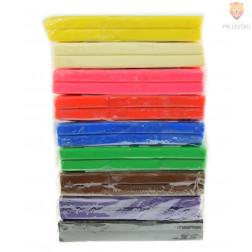 Plastelin Softy različne barve 500g