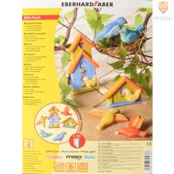 Plastični kalup za ulivanje Keramase Ptički in ptičje hišice 1 kos