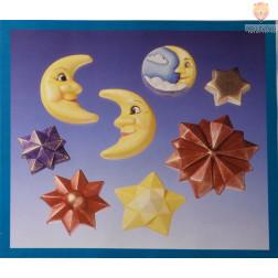 Kalup Luna in zvezde 1 kos