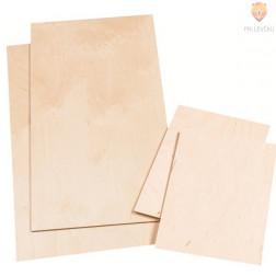 Lesena plošča 30x60x0,4cm 1 kos