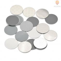 Kovinske ploščice okrogle 18mm 20 kosov