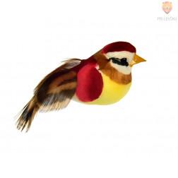 Ptiček za spomladansko dekoracijo, velikosti 5,5 cm, 1 kos