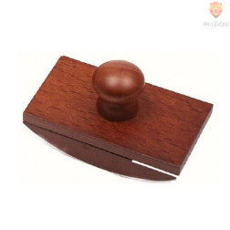 Držalo za pivnik leseno 7,5x4,5cm 1 kos