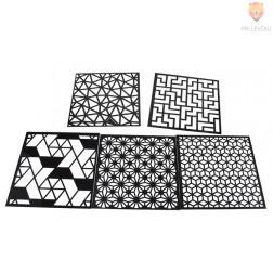 Šablone za izdelavo dekoracij Liki 5 kosov