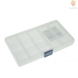 Plastična škatla za shranjevanje 17x9,5x2cm 1 kos