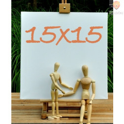 Platno slikarsko 15x15cm 380g/m2 1 kos