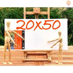 Platno slikarsko 20x50cm 380g/m2 1 kos