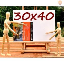 Platno slikarsko 30x40cm 300g/m2 1 kos