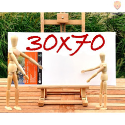 Platno slikarsko 30x70cm 380g/m2 1 kos