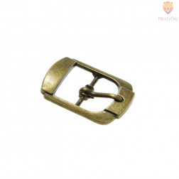 Sponka za pas 20 mm, barva starega zlata, 1 kos