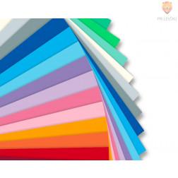 Tonpapir barvni miks 50 barv 130g/m2 35x50cm 50 listov