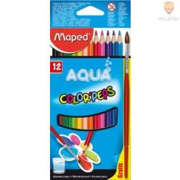 Akvarelne barvice Color'Peps 12 kosov + čopič