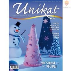 Revija Unikat november/december/januar 2020/21 1 kos