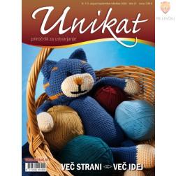Revija Unikat avgust/september/oktober 2020 1 kos