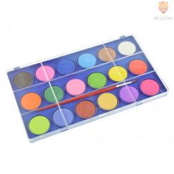 Vodene barve 18 barv + čopič