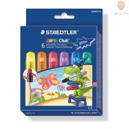 Voščenke v gelu Noris Club 6/1 glitter Staedtler
