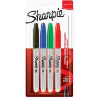Markerji Sharpie fine set Basic 4 kosi