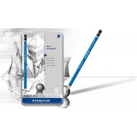 Set 12 svinčnikov različnih trdot Mars Lumograph