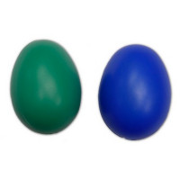 Jajce plastično barvno 4,5 cm 1 kos