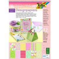 Design papir blok Pomlad A4 12 listov