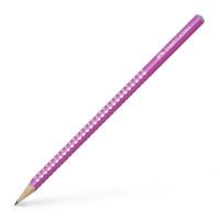 Svinčnik Sparkle Faber Castell 1 kos-Pink