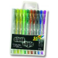 Gel pisala Black Style - Glitter 10/1