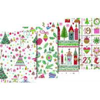 """Zavijalni papir """"Wonderland,"""" 80 g/m2, 70 x 200 cm"""