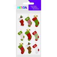 """Nalepke za dekoracijo """"Božične nogavičke"""""""