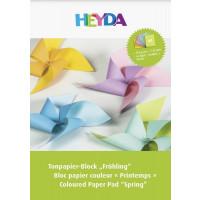 Barvni papir v bloku Pomlad A4 10 listov
