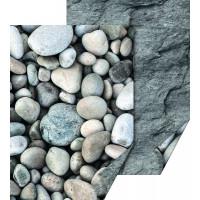"""Karton z naravnimi motivi """"Prod in kamenje,"""" 50 x 70 cm, 300 g/m2, 1 kos"""