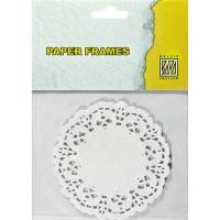 Papirnati prtički premera 10cm 12 kosov
