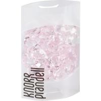 Dekorativni kristali v obliki srčkov roza barve 100ml