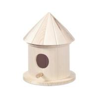 Lesena ptičja hišica 8,5x15cm 1 kos