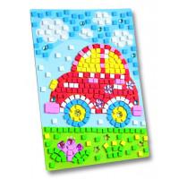 Moos gumi mozaik Avtomobil