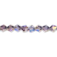 Perle steklene brušene 4 mm, 1 niz