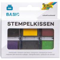 Blazinice za štampiljke Basic 6 kosov