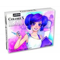 COLOREX  set akvarelnih transparentnih tušev 10x20ml
