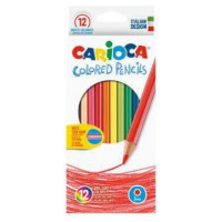 Barvice Colored pencils klasične tanke 12 kosov