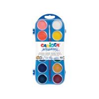 Vodene barve Carioca 12 barv + čopič